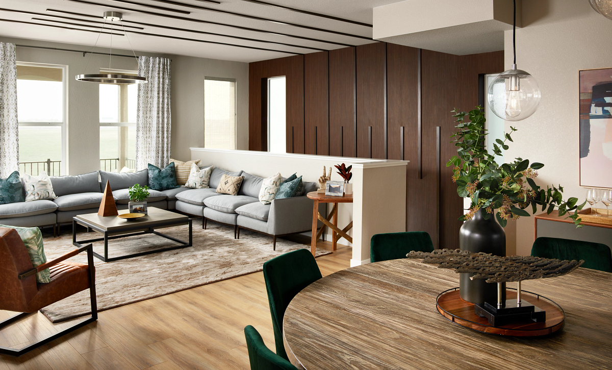 Stepping Stone Crescendo Plan 2201 Dining Great Room