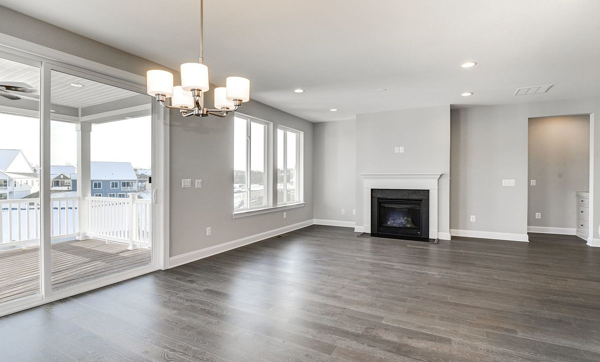 Trilogy at Lake Frederick Quick Move In Aspen Plan Great Room