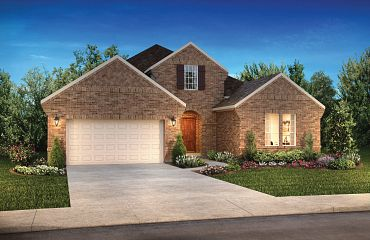 Plan 5136 Exterior B: Texas Traditional