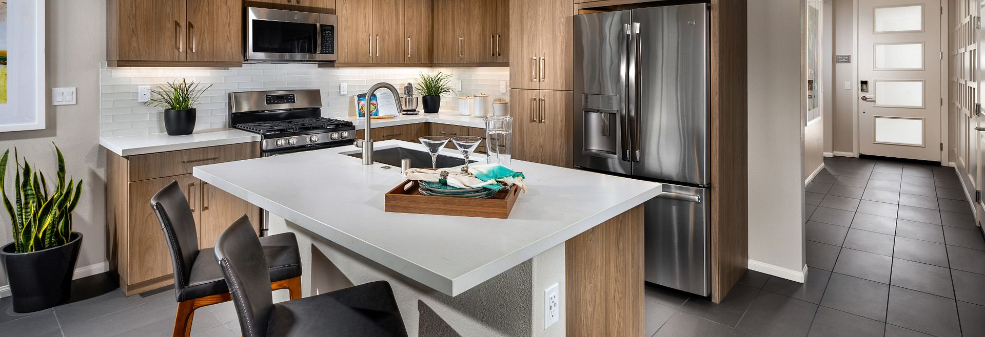 Aria Plan Kitchen