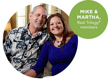 Mike and Marsha, Real Trilogy members