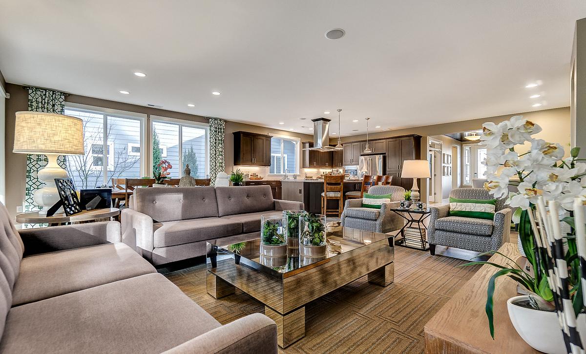 Trilogy at Tehaleh Refresh Living Room