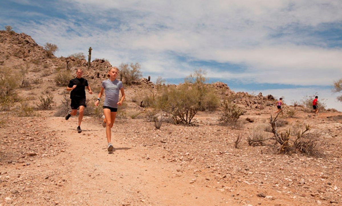 Inspire at Estrella Trails for Hiking and Running