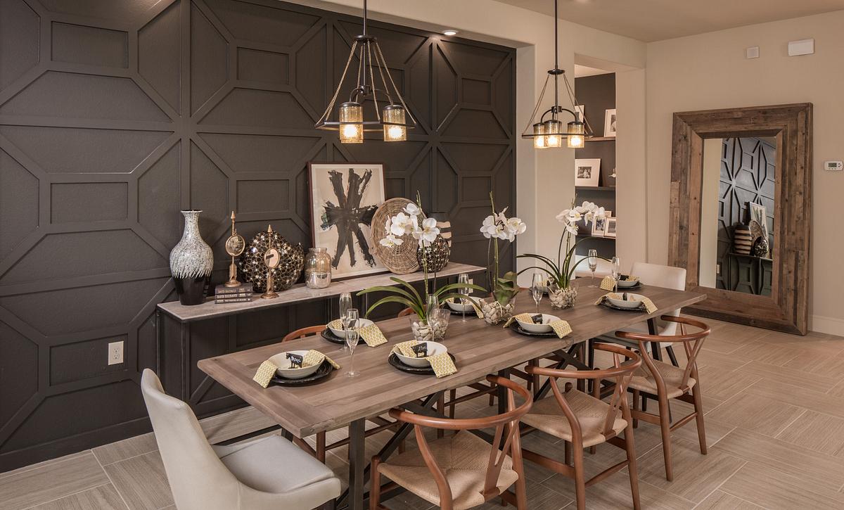 Plan 4132 Dining Room