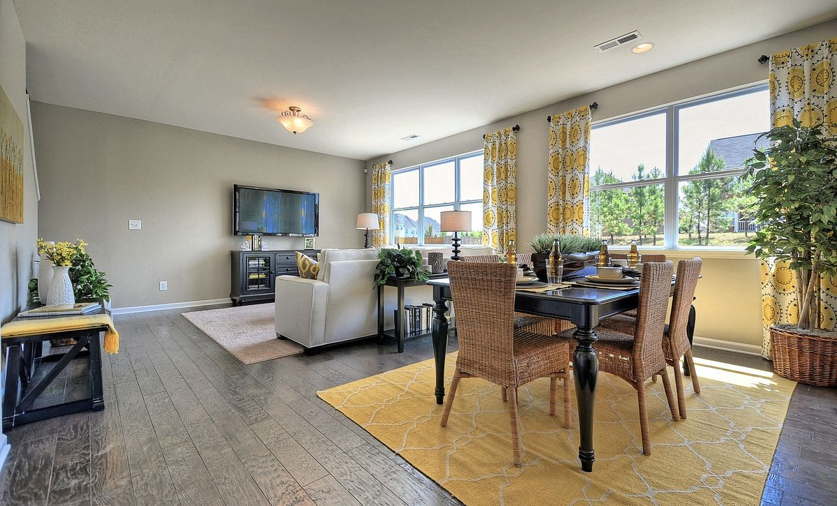 Tensley Plan Dining & Family Rooms