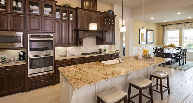 View of Kitchen in Plan 6015 of new home community in Katy, TX