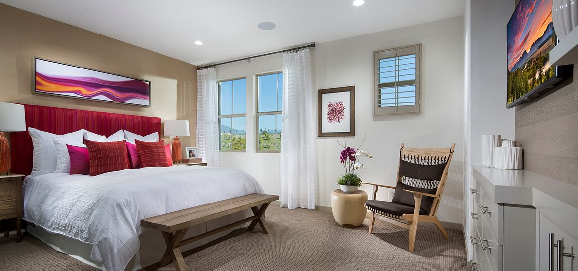The Rowe Baker Ranch Plan 1 Master Bedroom