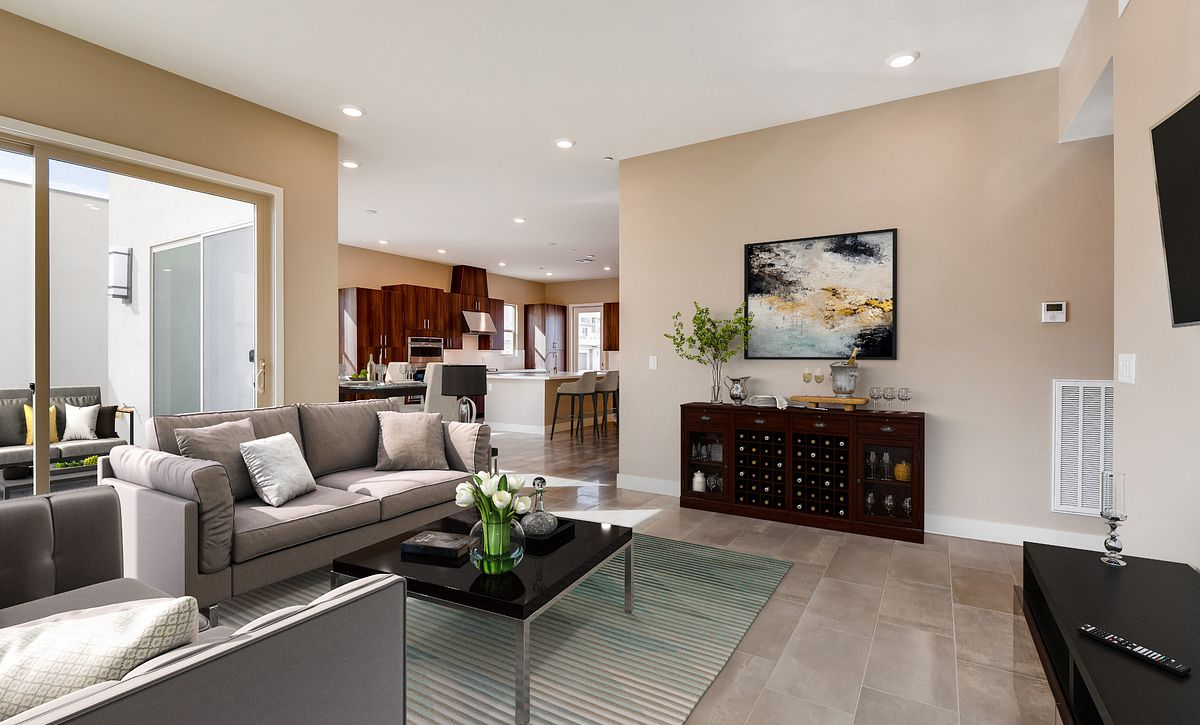 Trilogy Summerlin Radiant Virtually Staged Great Room