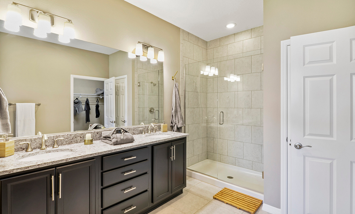 Trilogy at Ocala Preserve Excite Model Home Master Bath