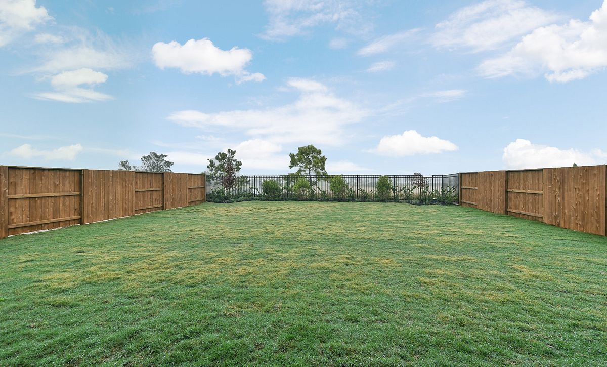 Plan 4069 Back Yard