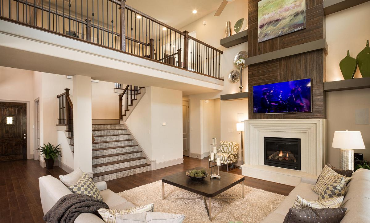 Plan 5030 Living Area