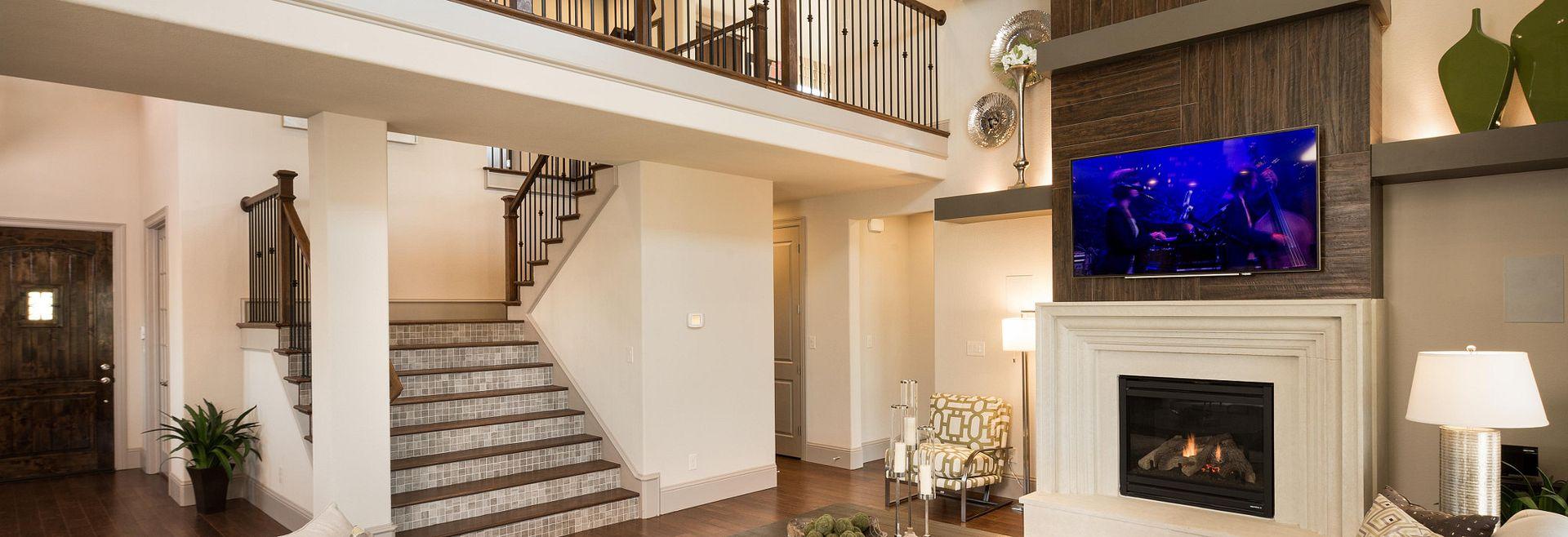 The Woodlands Plan 5030 Living Room