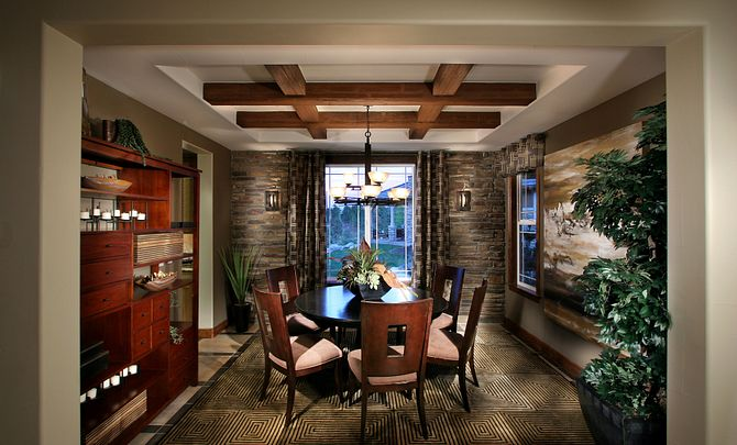 BackCountry Serenity Star Dining Room