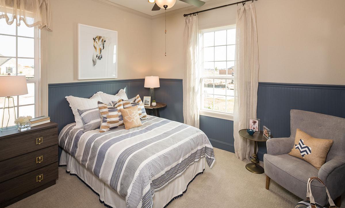 Plan 5114 Guest Bedroom
