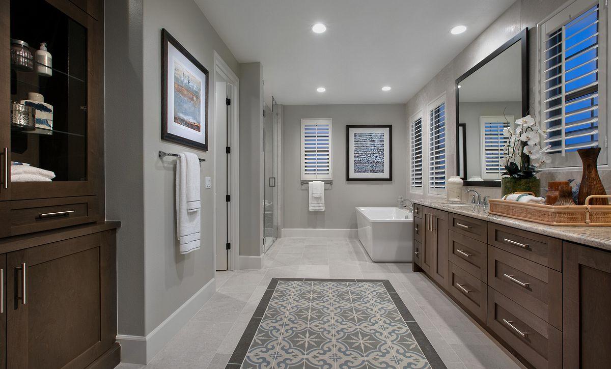 Parkside Estates Plan 4 Master Bath