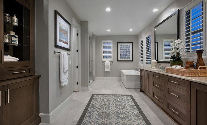 Parkside Estates Plan 4 Master Bath