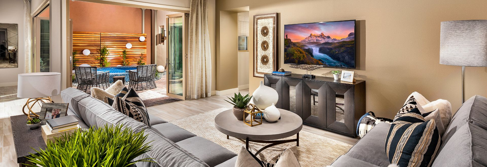 Trilogy Summerlin Indulge Great Room