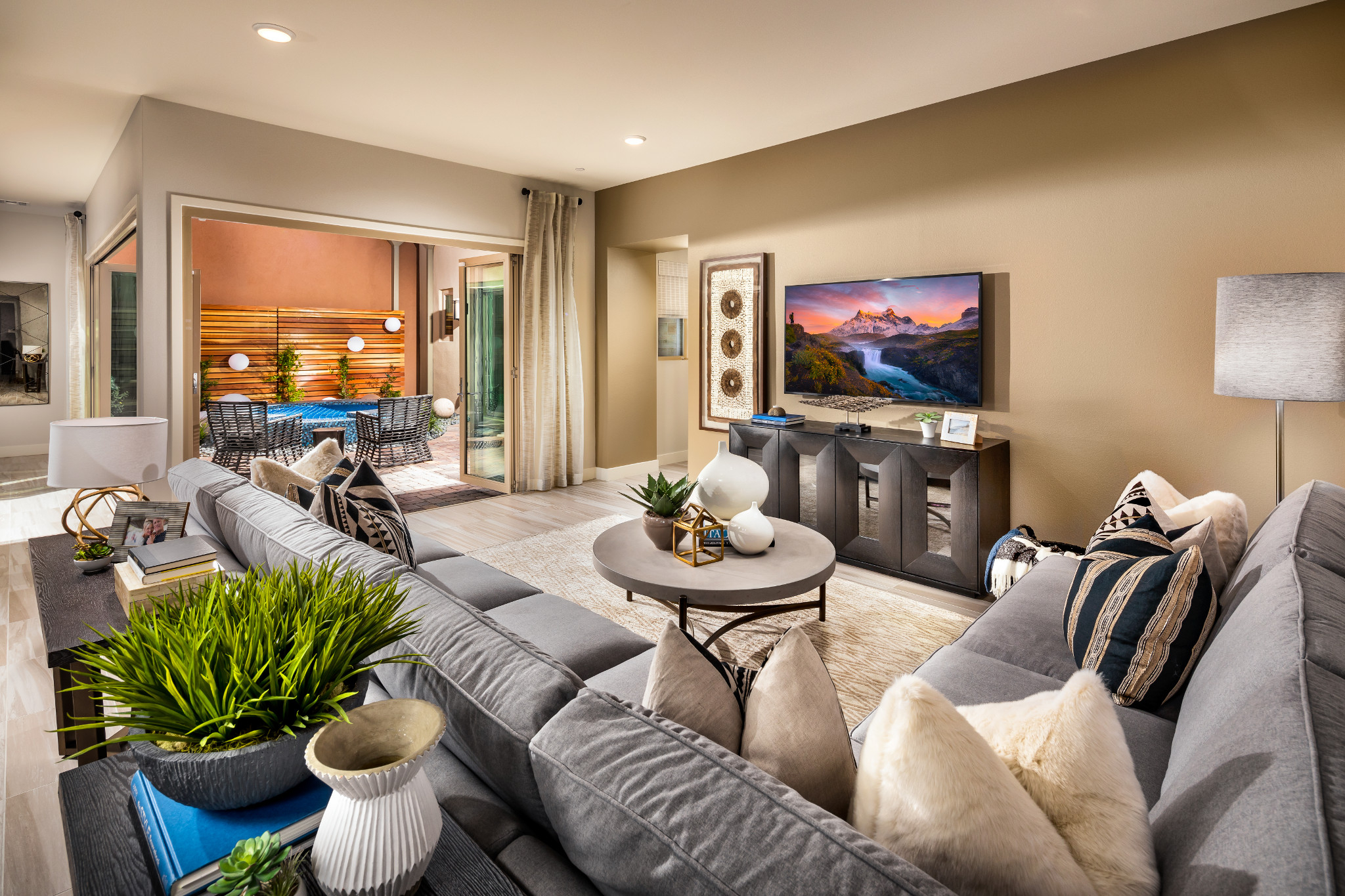Trilogy in Summerlin Indulge Great Room