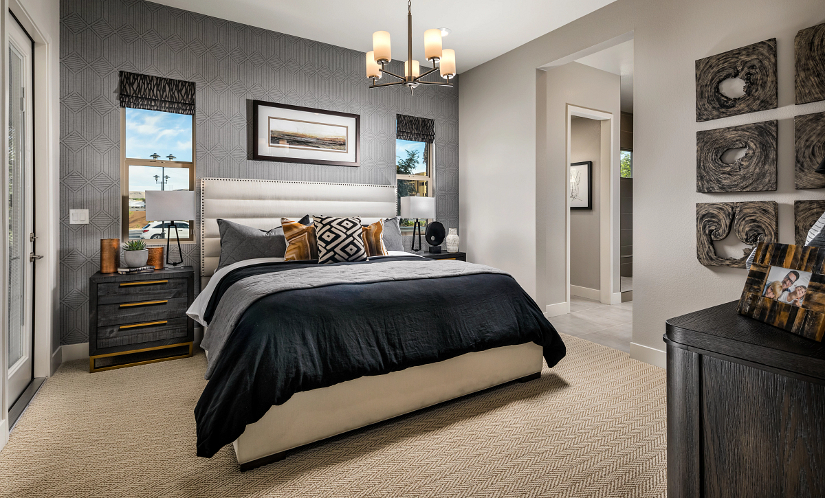 Trilogy Summerlin Radiant Master Bedroom