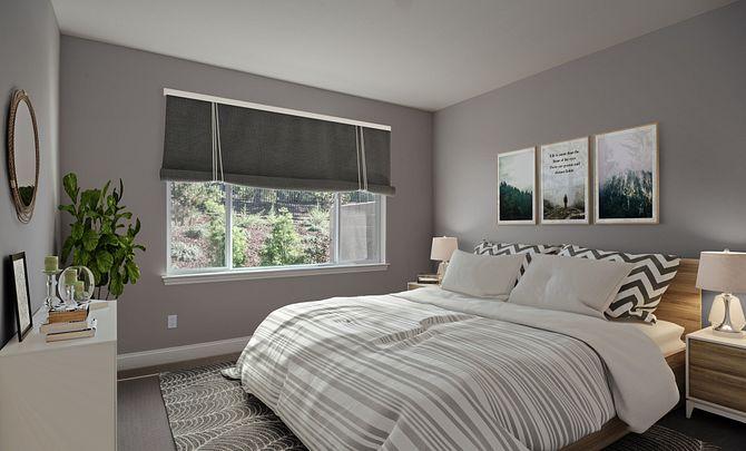 Shea Homes Rice Ranch Sage+ Master Bedroom