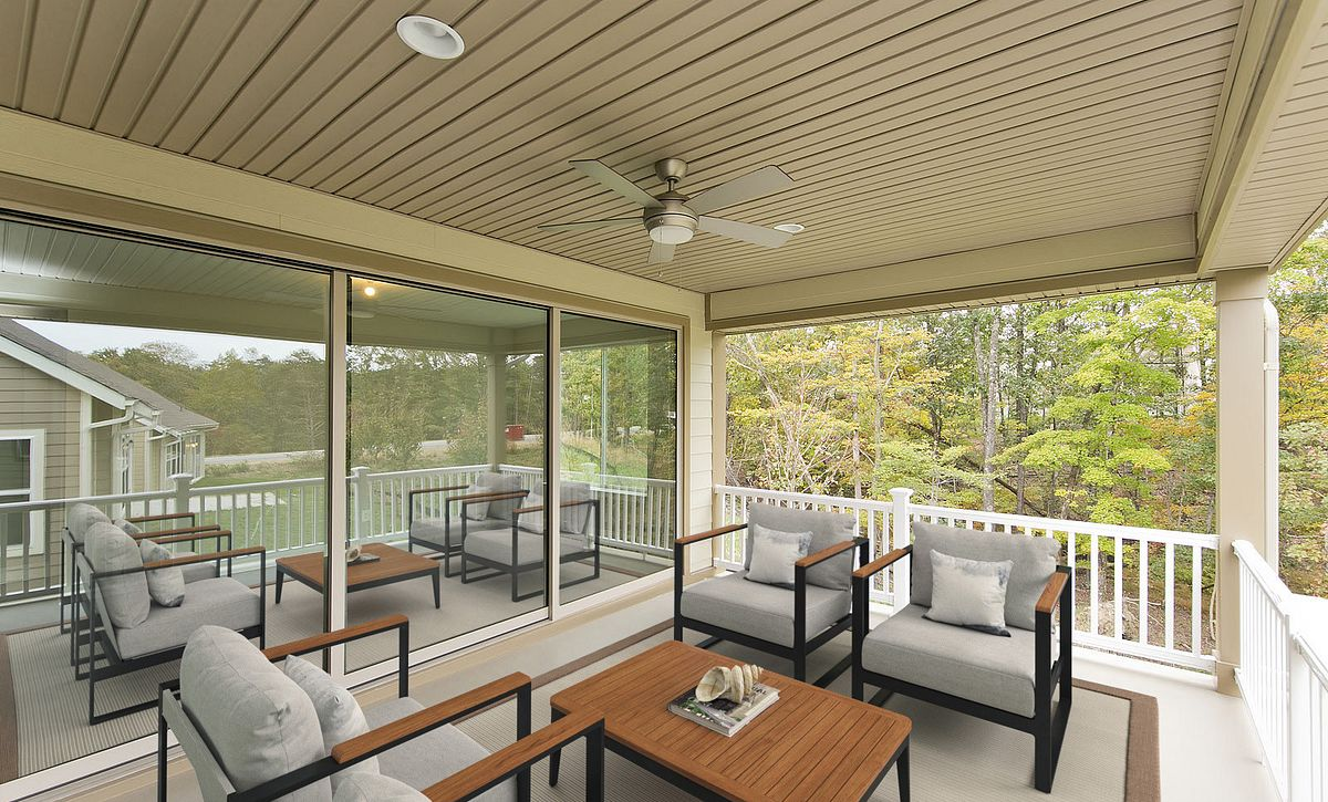 Trilogy at Lake Frederick Nice Plan Covered Patio