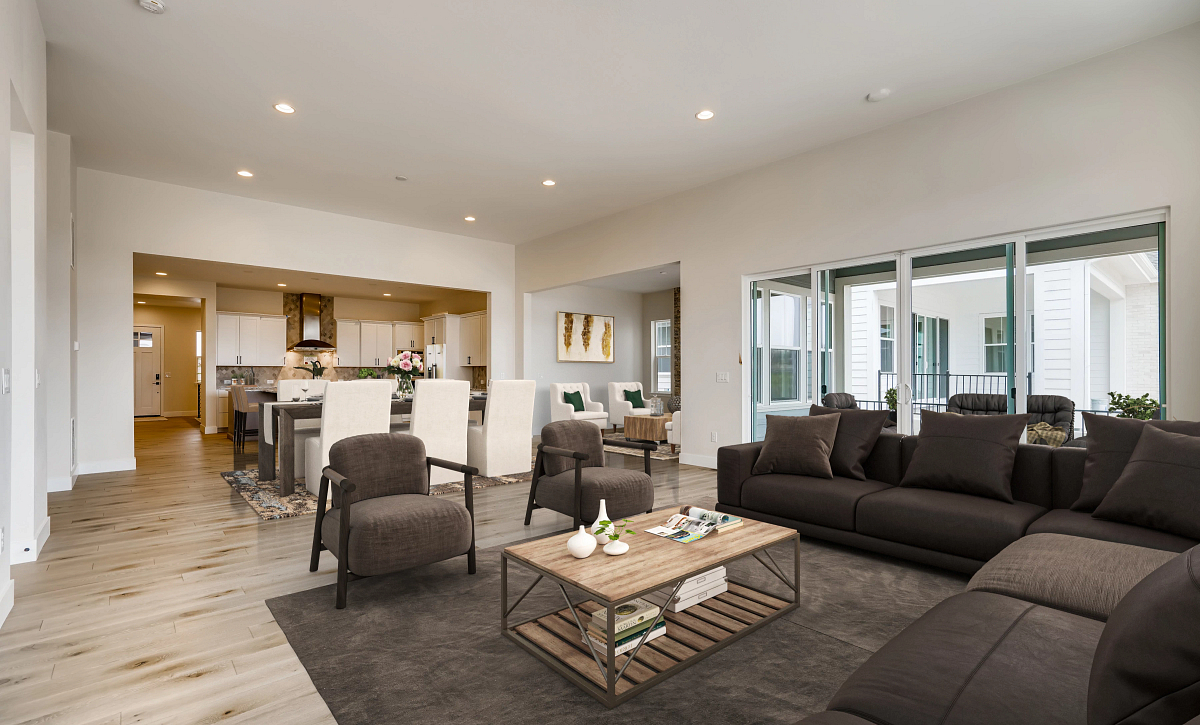 Canyons Retreat Haven QMI Lot 534 Great Room, Dining