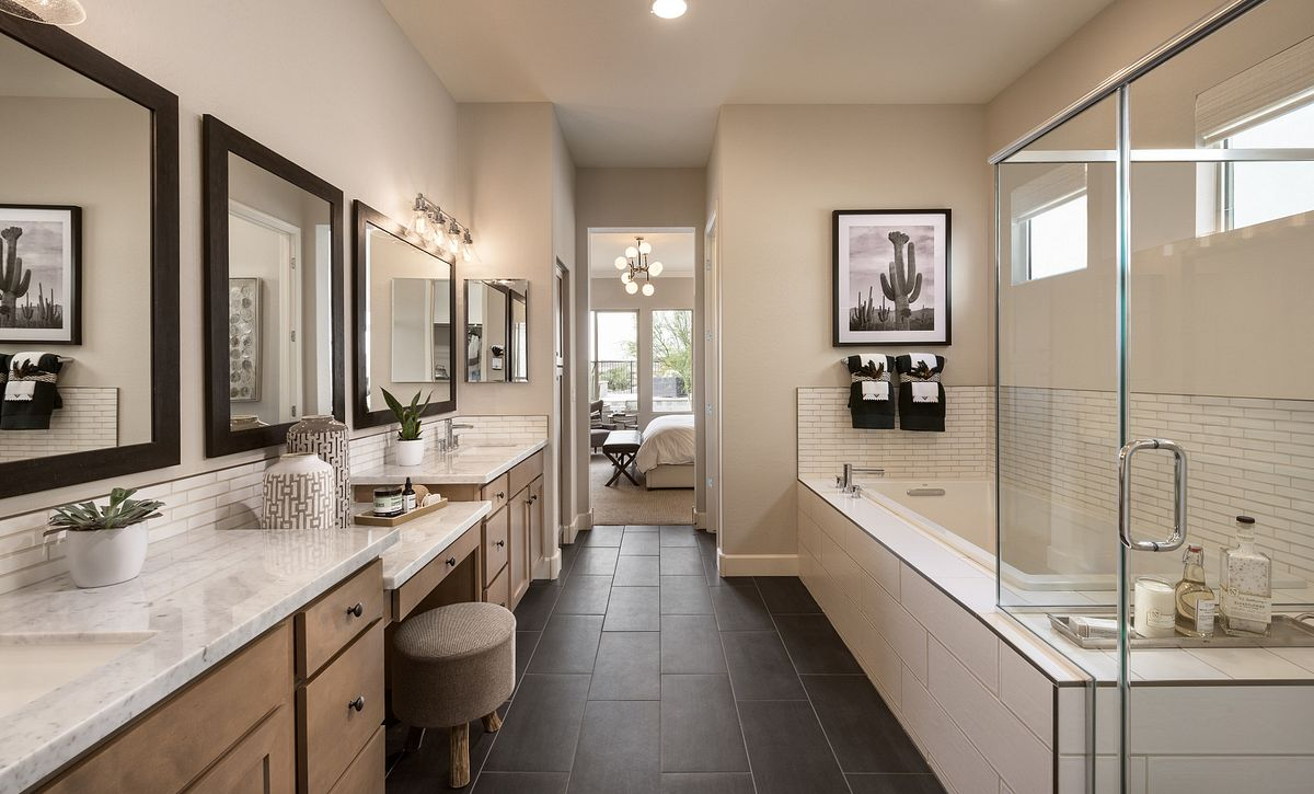 Spectrum Model Master Bathroom