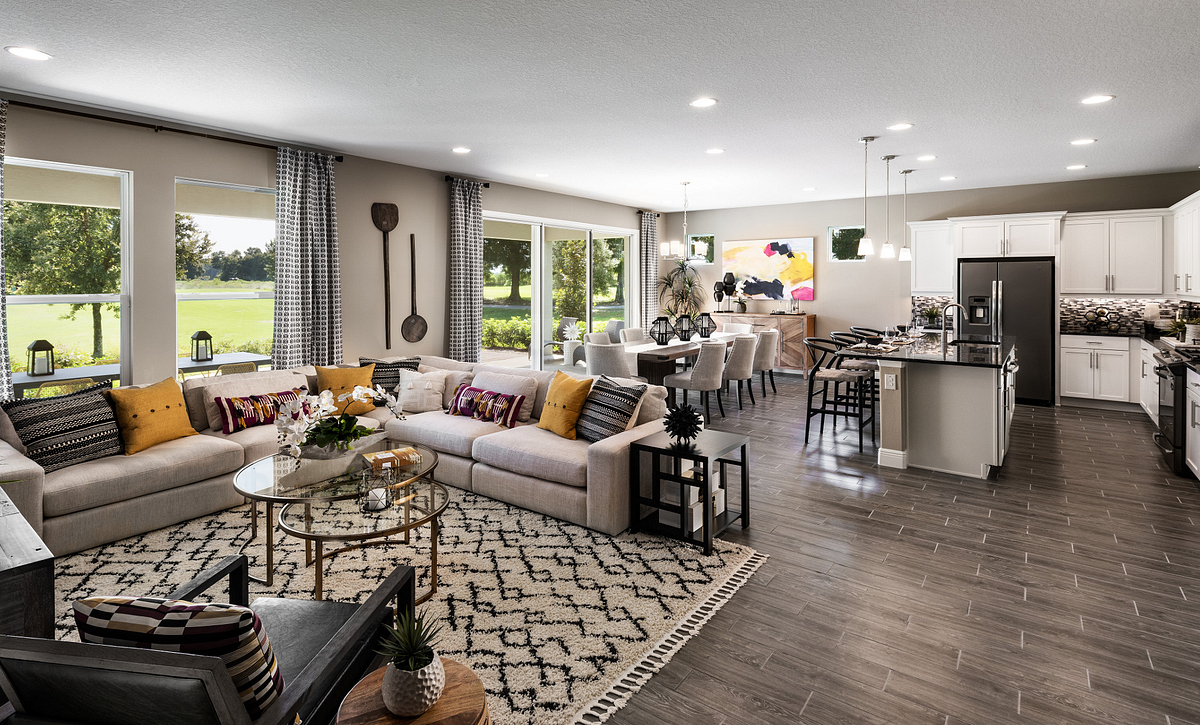 rilogy at Ocala Preserve Liberty Model Home Great Room
