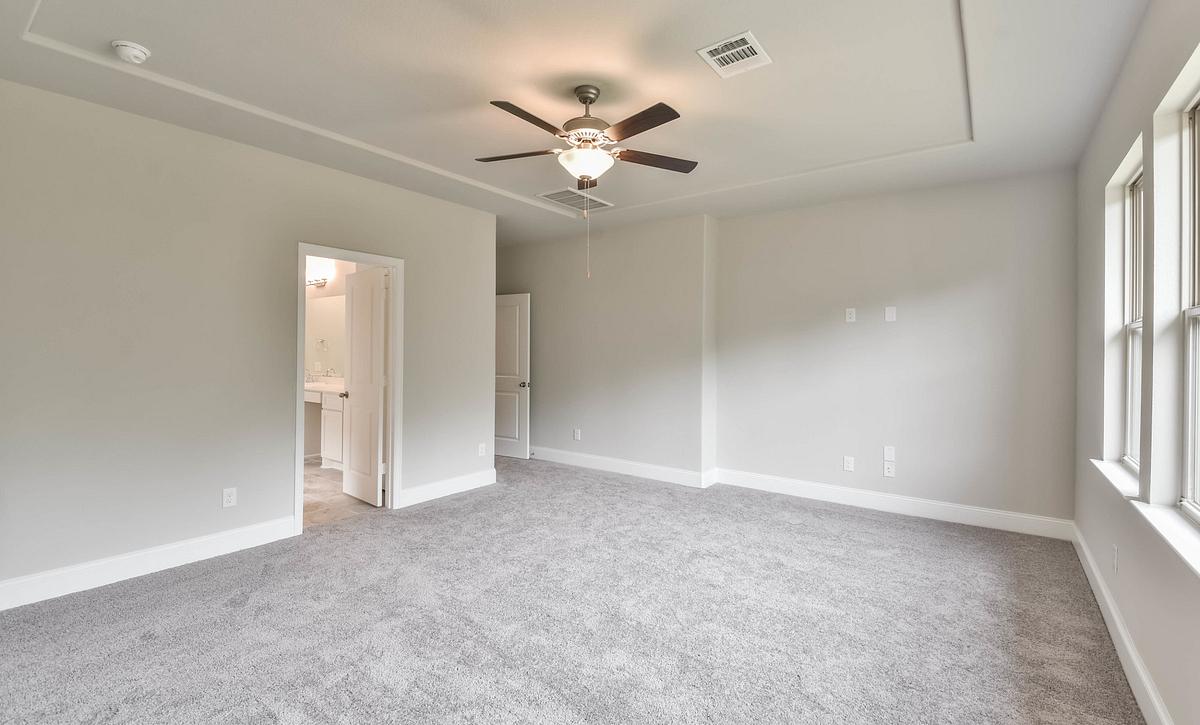 Harper's Preserve Plan 5039 Primary Bedroom