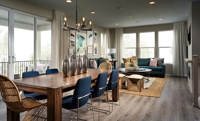 Crescendo at Central Park Plan 2203 Dining and Great Room