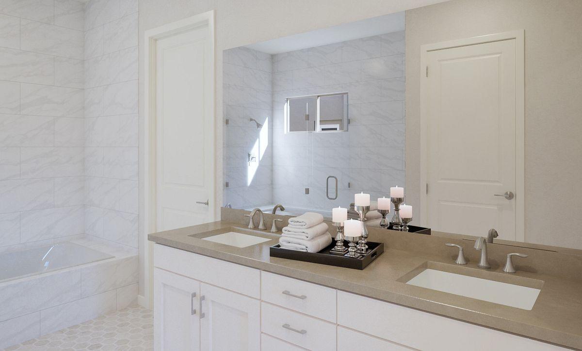 Trilogy Summerlin Radiant Master Bathroom Rendering