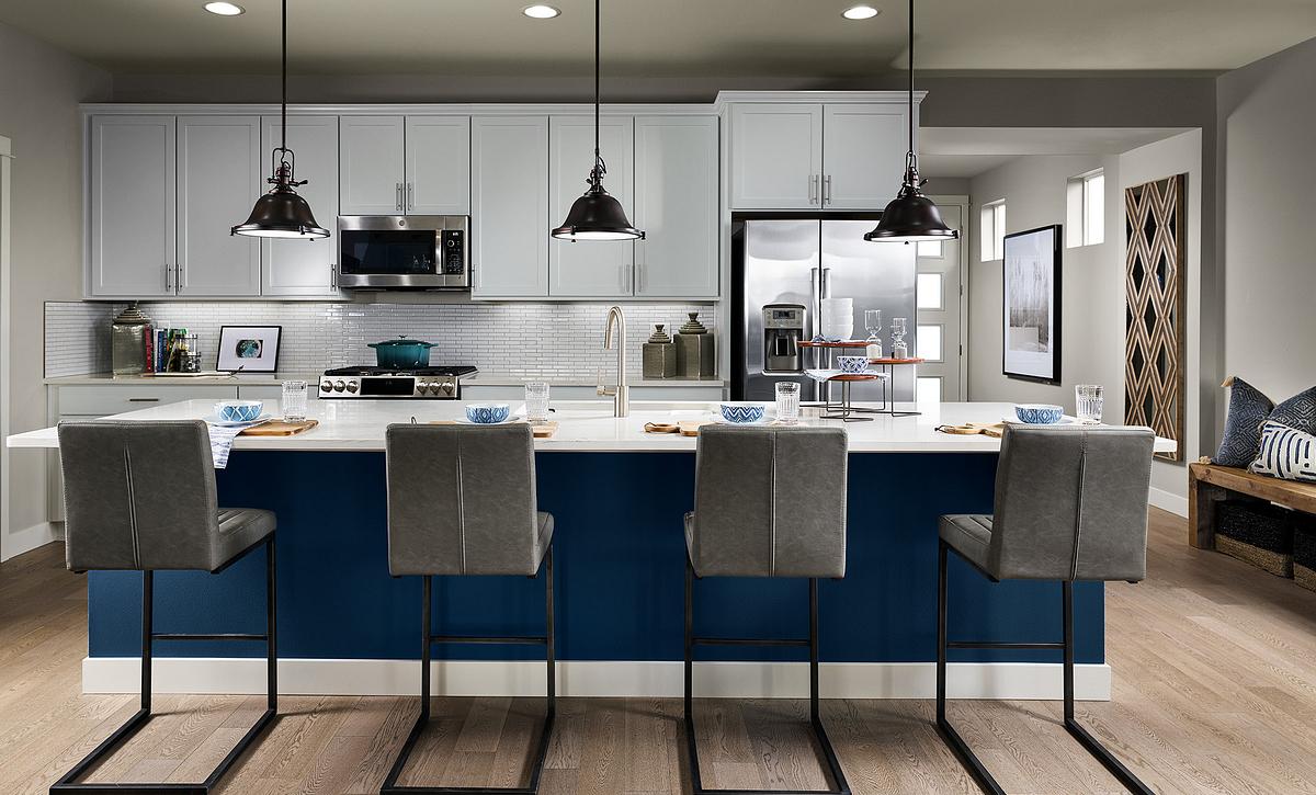Trilogy at Tehaleh Evia Model Home Kitchen
