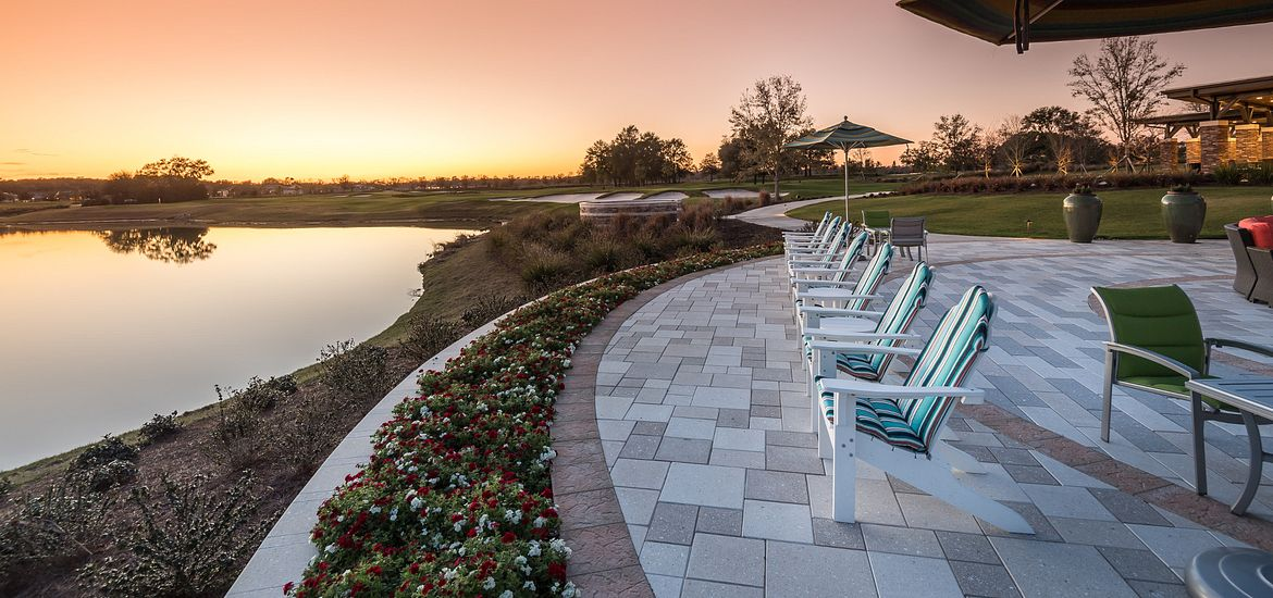 Water Feature at Trilogy at Ocala Preserve