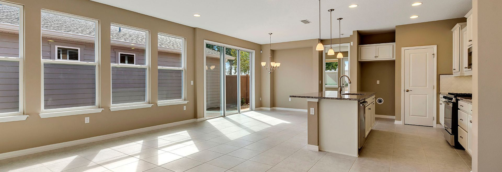 Trilogy Orlando Amalfi Plan Quick Move In Home Great Room