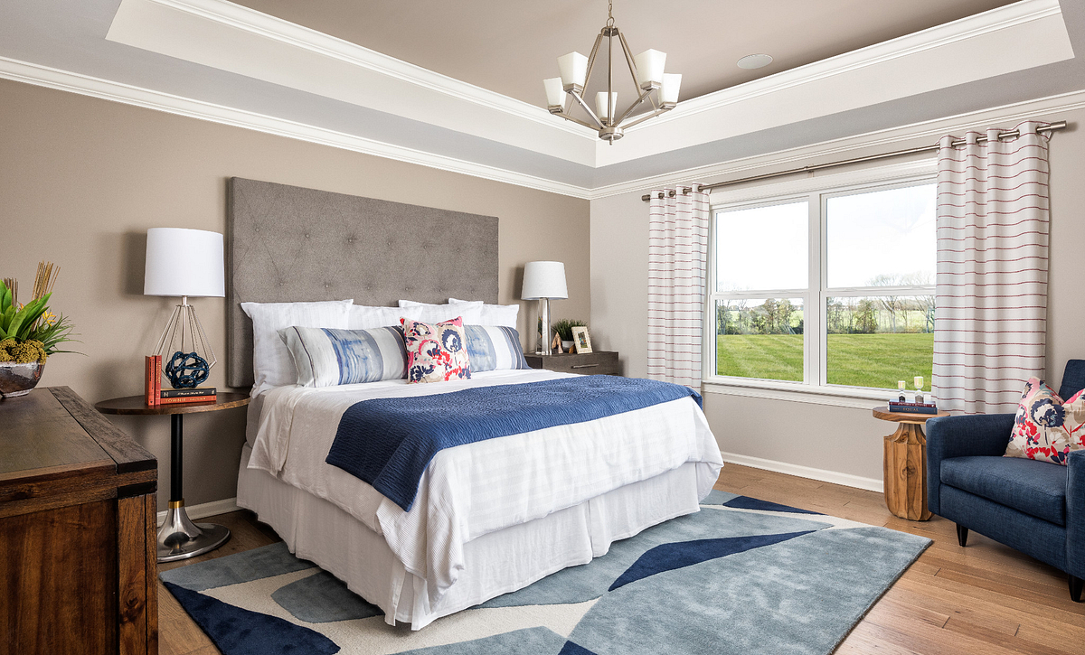 Owner's Suite with Tray Ceiling Option