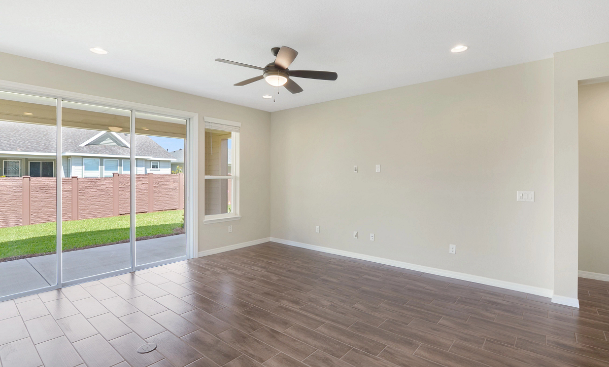 Trilogy at Ocala Preserve Quick Move In Home Refresh Plan Great Room