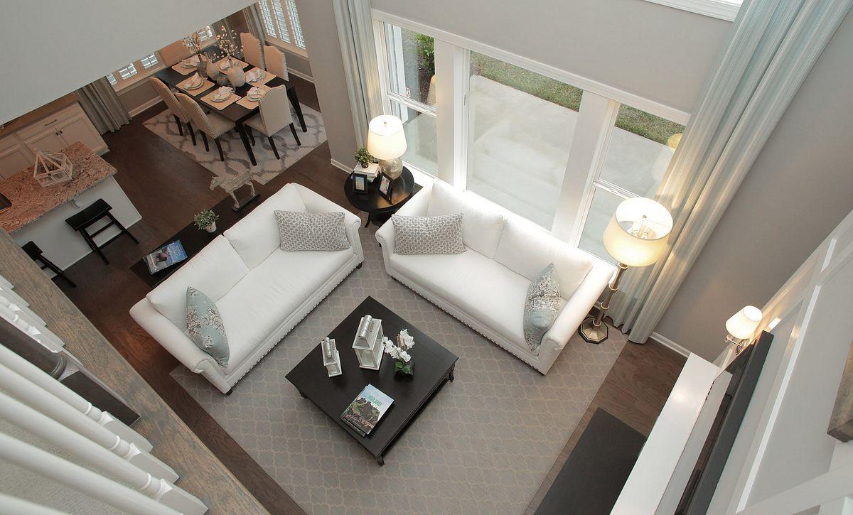 Calistoga plan Family Room (example image)