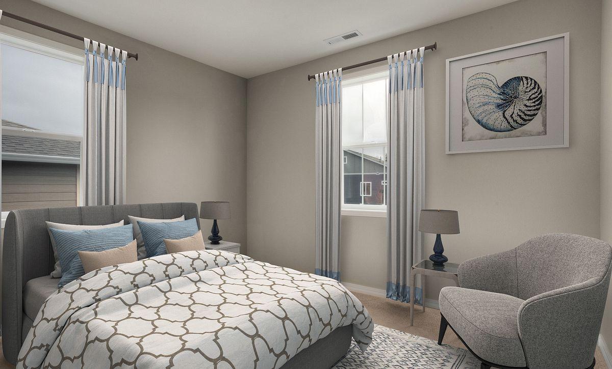 Trilogy Tehaleh Lot 4008 Guest Bedroom