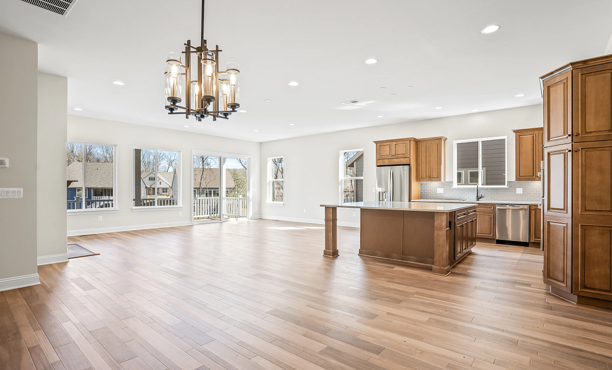 Trilogy at Lake Frederick Evoke Plan Quick Move In Home Great Room and Dining