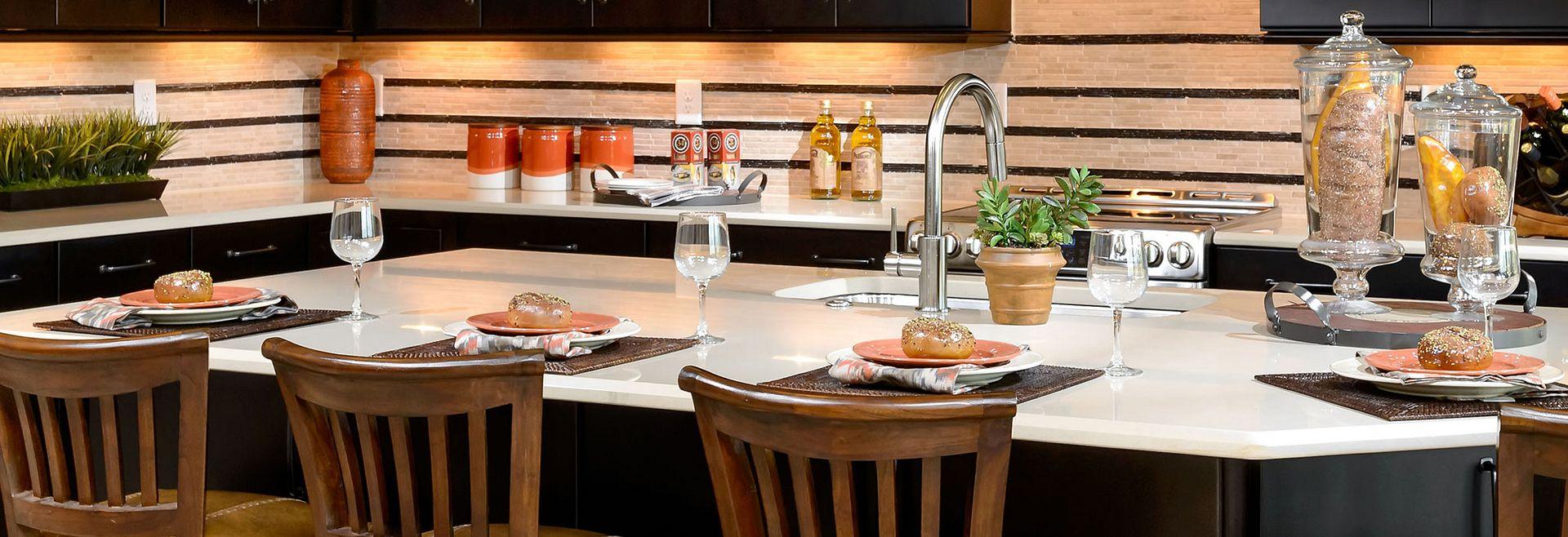 Trilogy Lake Norman Refresh Model Kitchen