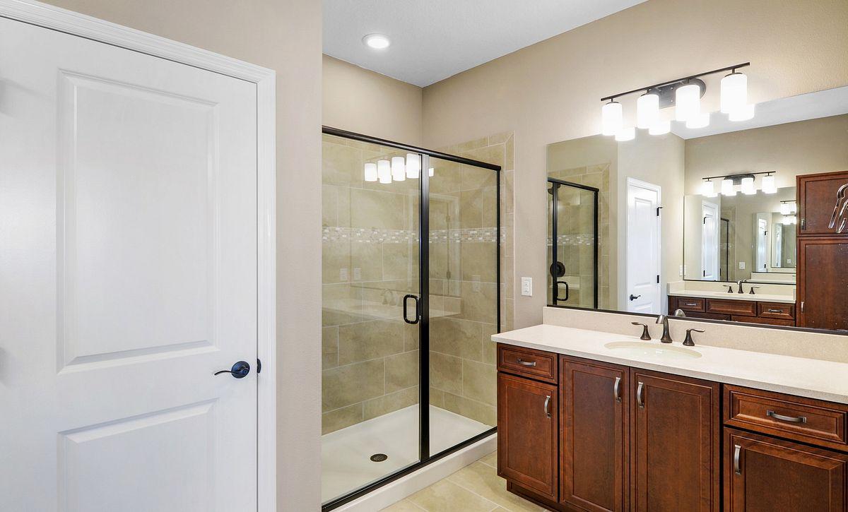 Trilogy at Ocala Preserve Quick Move In Aria Plan Master Bath