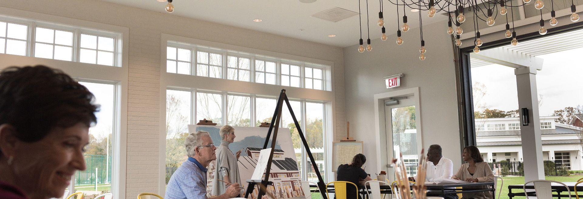 Trilogy Lake Norman Club Art Studio