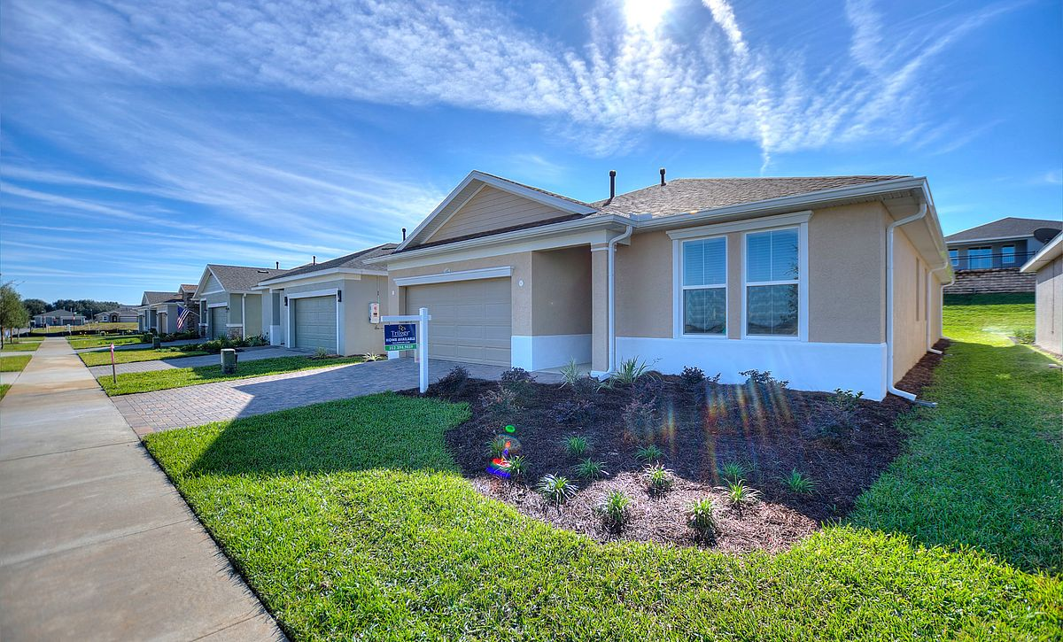 Trilogy Orlando Quick Move In Home Connect Plan Front Exterior