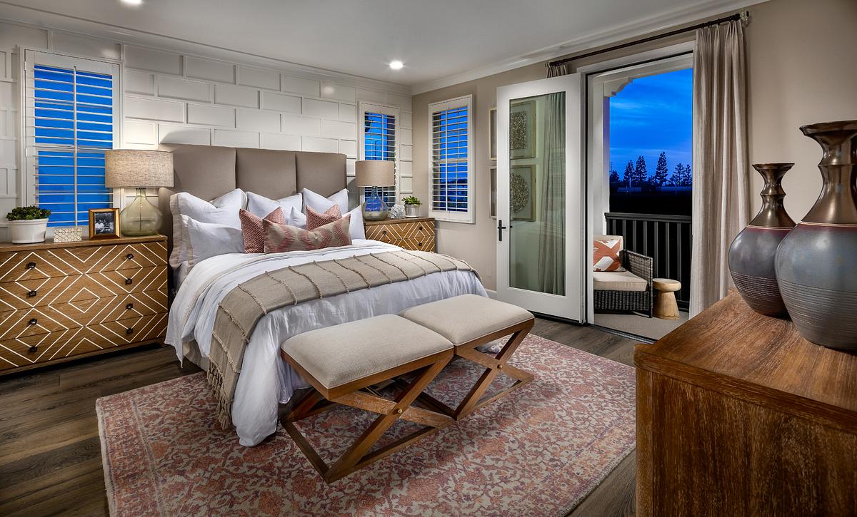 Gardenia Plan 1 Master Bedroom