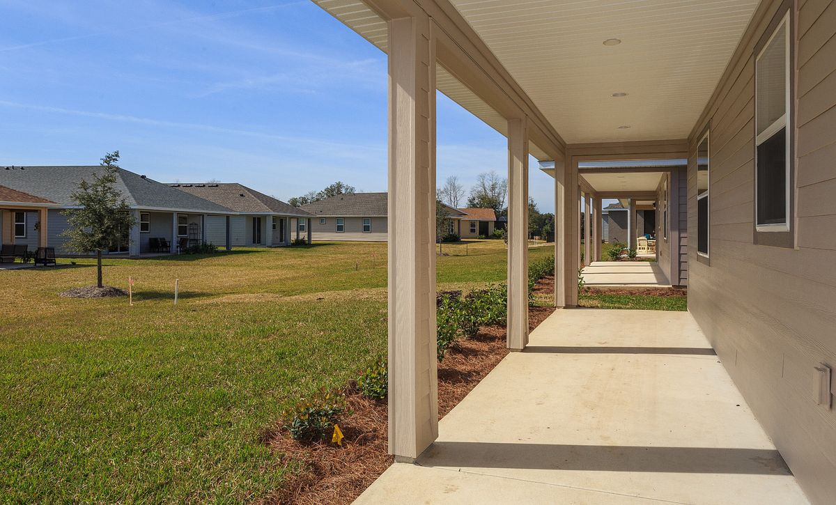 Trilogy at Ocala Preserve Quick Move In Home Naples Plan Covered Lanai