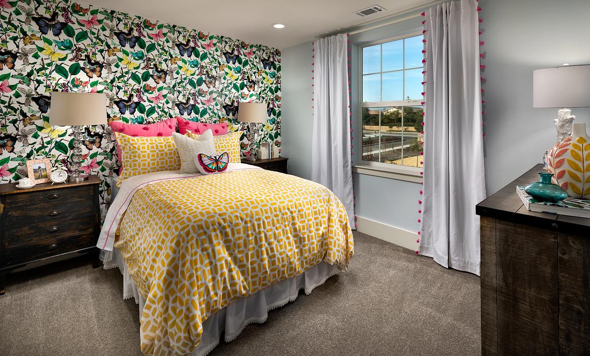 Shea Homes Rice Ranch Verbena Guest Bedroom