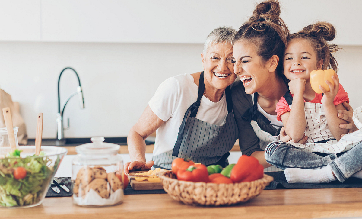 Homeowners Enjoying Time in The Kitchen