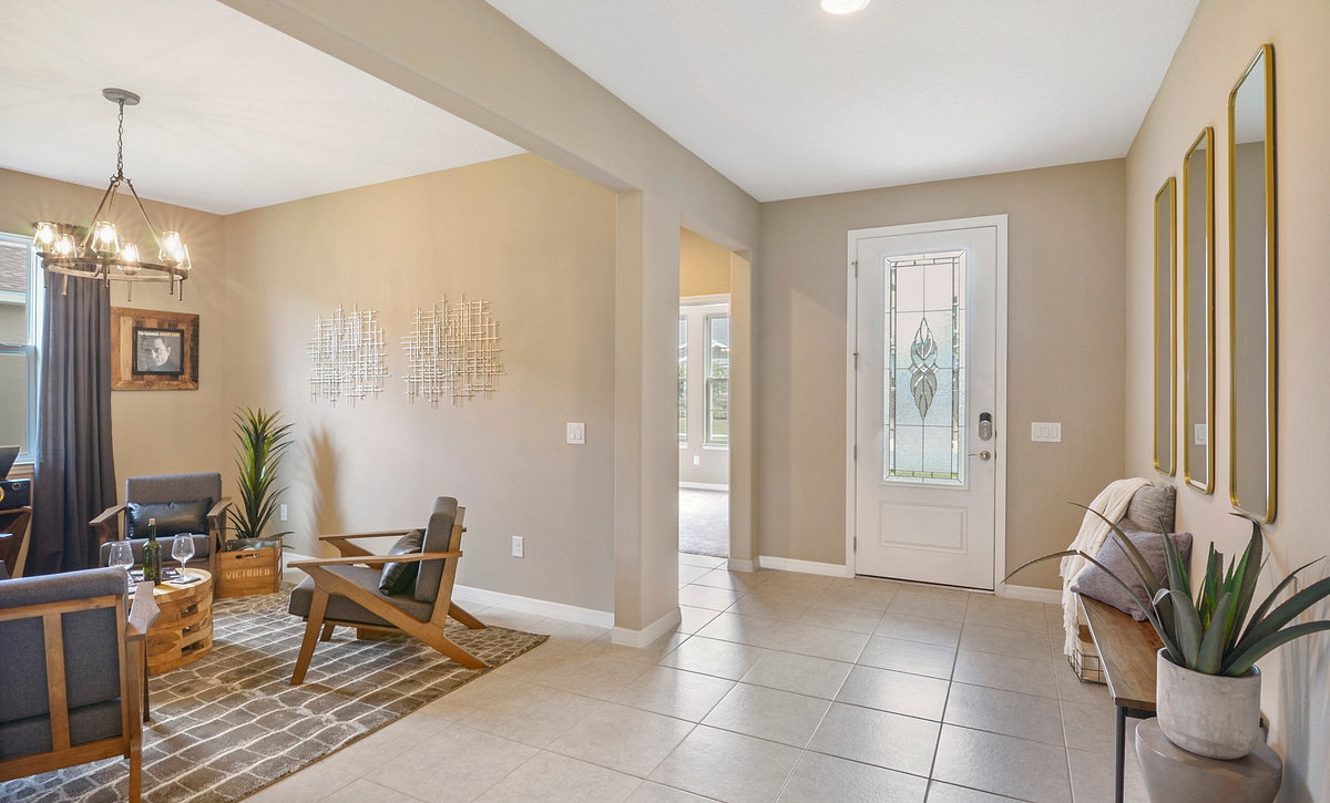 Trilogy at Ocala Preserve Excite Model Home Foyer