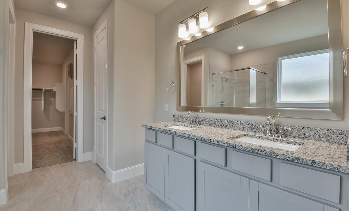 Plan 4029 Primary Bathroom