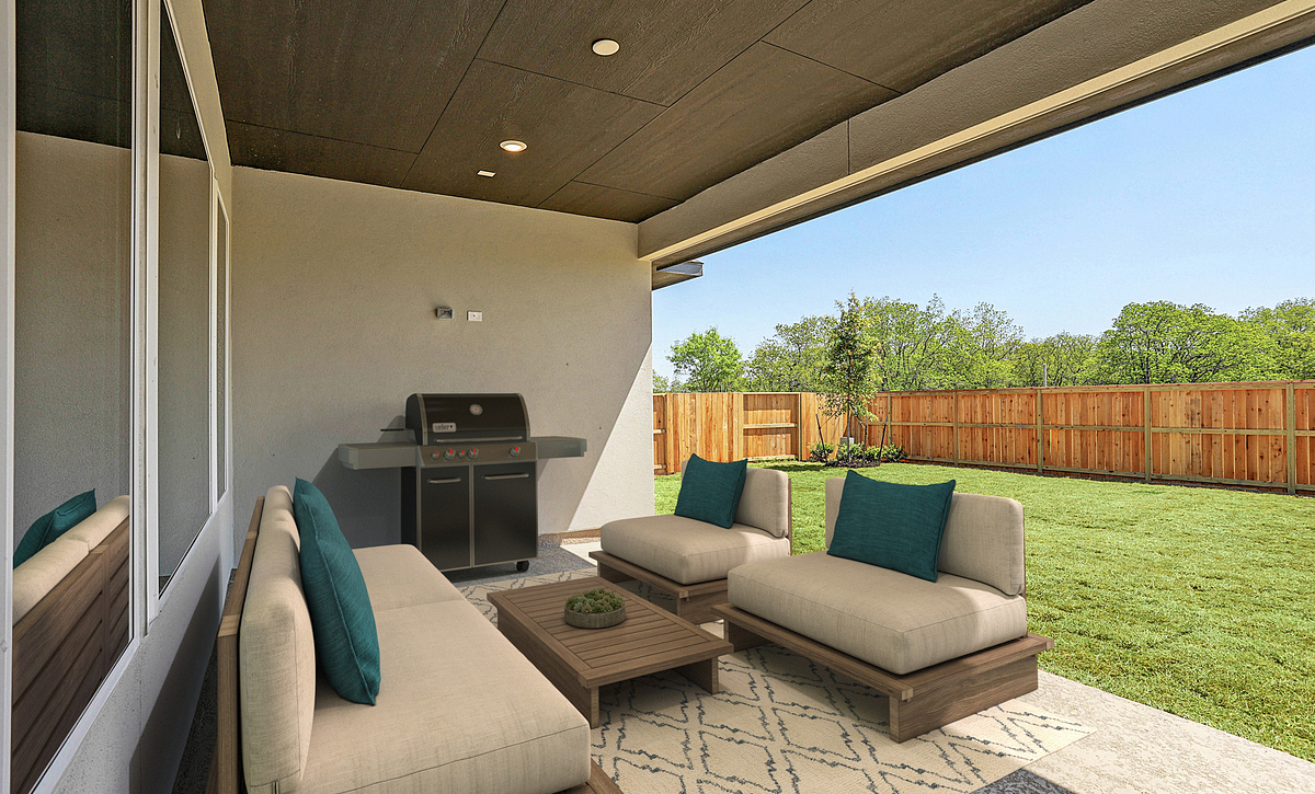 Plan 6010 Outdoor Living
